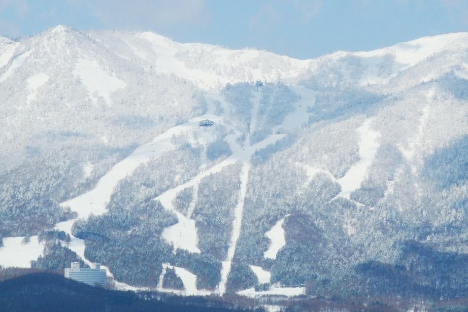 富良野スキー場 全景