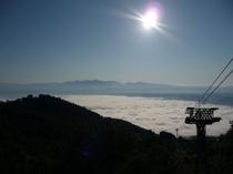 ある日の富良野ロープウェイ(雲海)