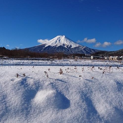 【富士山 冬】
