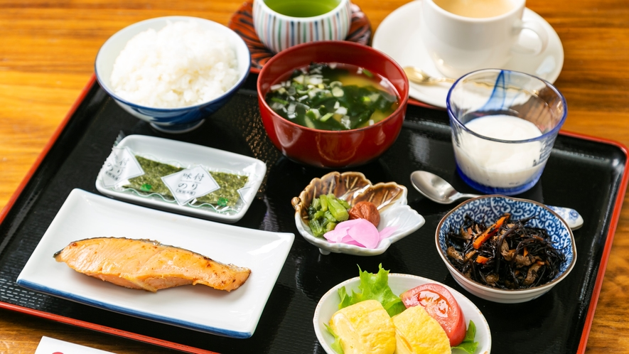 【いってらっしゃい飯】サービス朝食