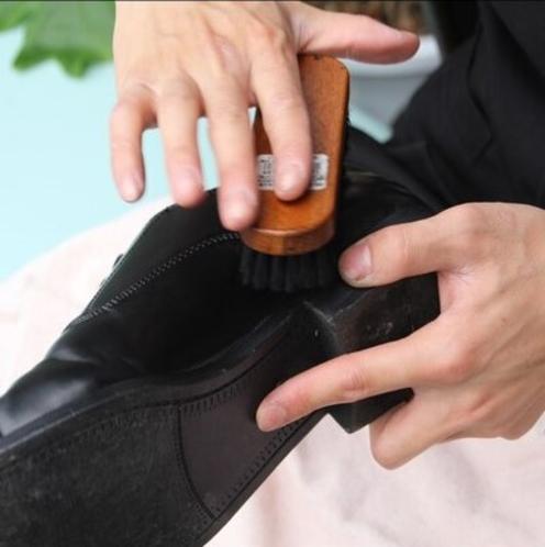 【靴磨きサービス】無料