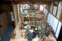 庵 西陣伊佐町町家 工房を上から見たイメージです。職住一体の町家だからこその眺めです。
