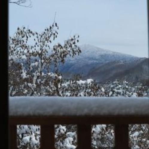 VIPルーム本日の眺め(冬)