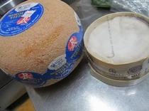 ミモレットとモンドールチーズ