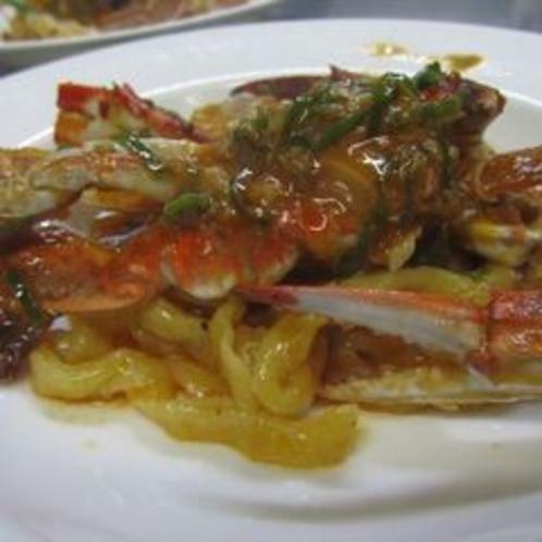 プリモピアット:渡り蟹のパスタ