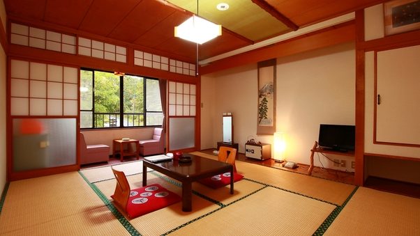 自然を望める「和室おまかせ」8〜10畳/トイレ付