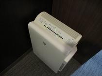 空気清浄機(加湿機能付き) デラックス・レディース・ダブル・ツイン に標準装備