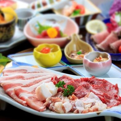 【スタンダード】×【春日温泉】≪2食付≫信州ブランド肉を食べ比べ!信州屈指の『美肌の湯』を堪能♪