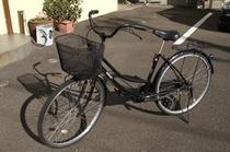 当館の自転車をお貸しします。(無料)数に限りがあります。