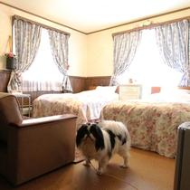 【客室】206・洋室2間
