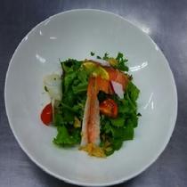 ファーム野菜と海鮮カルパッチョ