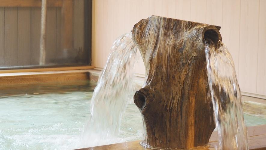 【大浴場】ヒノキ風呂