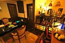 別邸の専用個室バー