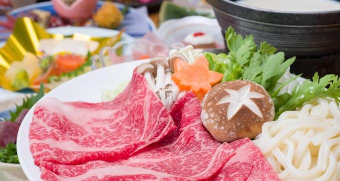 ■基本■夕食メインを栃木県産和牛の豆乳しゃぶしゃぶにグレードアップ