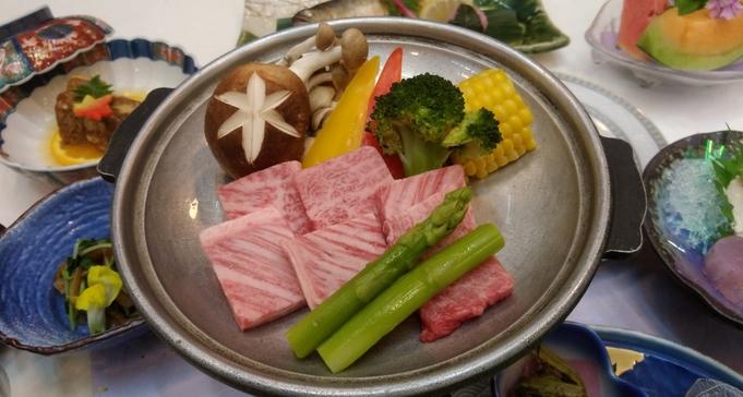 【とちぎ和牛で極上旅】最高級A5等級 とちぎ和牛の陶板ステーキ♪とろける旨味を堪能!