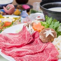 *栃木県産牛の豆乳しゃぶしゃぶ会席