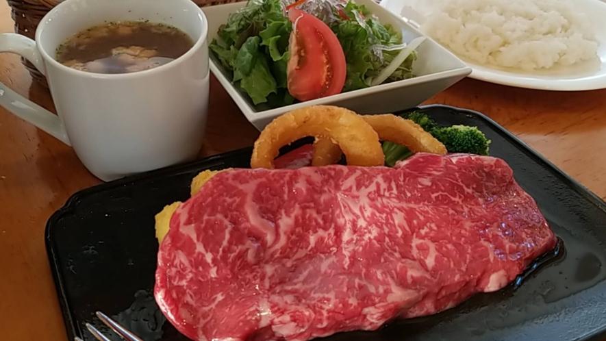 *特選国産牛サーロインステーキ膳セット