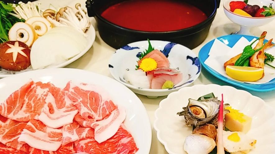 *韓国風チゲ鍋コース