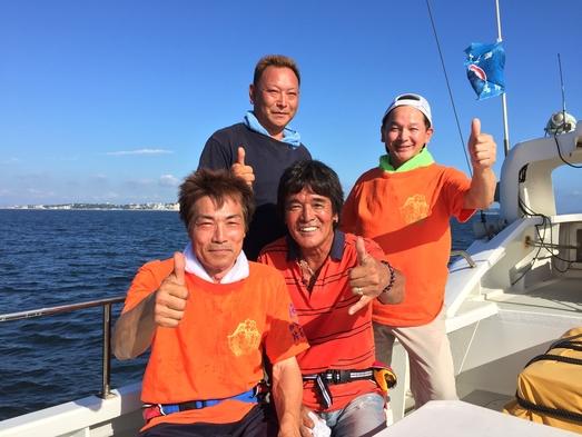 <体験フィッシング(宿泊翌日体験)>初心者もOK!知多半島周辺で船釣りを楽しむ