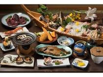 南知多の地魚「崎っぽ料理」の松新おすすめコースです。