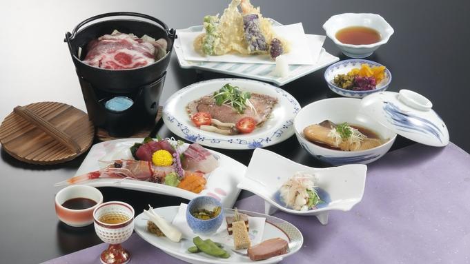 ≪定番≫メインは名物・和牛ローストビーフ!お造りや天ぷらなど、ボリューム満点スタンダード会席