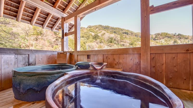 【*大浴場・露天風呂】女湯。美肌の湯ともいわれる温泉でゆっくり癒されてください。