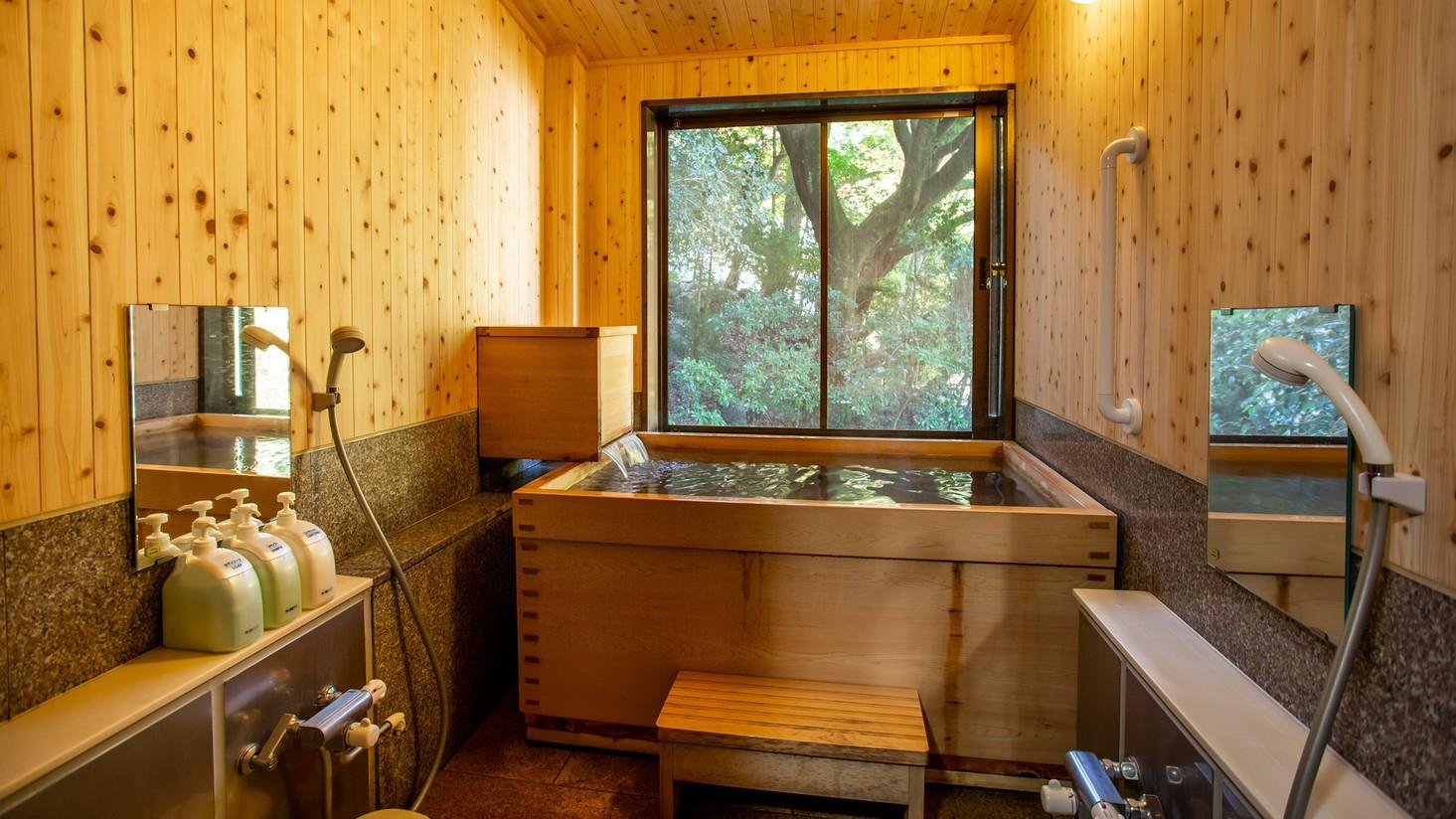 *【貸切風呂】ご宿泊の方は無料でご利用できます。チェックイン時にお時間をお伺いします。(1回50分)