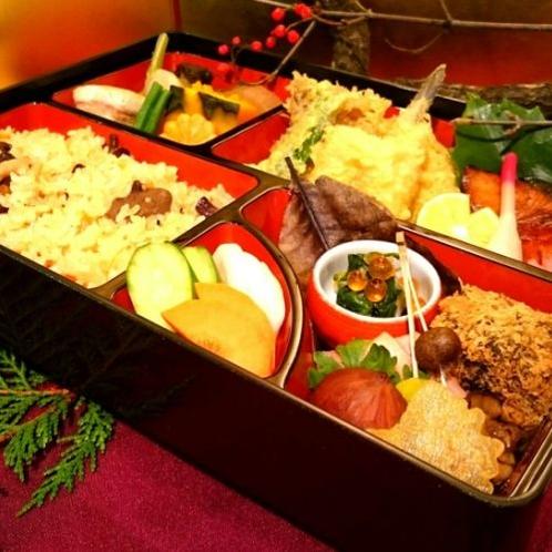 昼食(季節の和食弁当)例