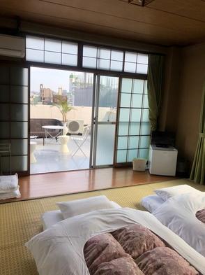 ベランダ付きのお部屋(特別室2〜8名様)
