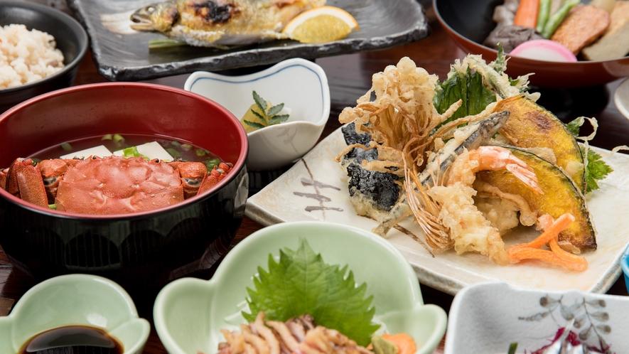 *【夕食一例】薩摩の郷土料理をお楽しみください。