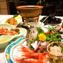 夕食(海藻つき)