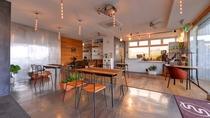 *Sound Swell Cafe/スタイリッシュなダイニングカフェ。朝夕のお食事はこちらにて