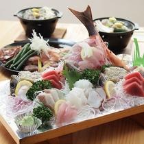 *海の幸満載のお料理