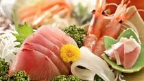 *【料理】はまち、イカ、えびなどとれたての海鮮の味をどうぞ☆