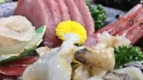 *【料理】海が近いからこそ味わえる鮮度がここにあります。