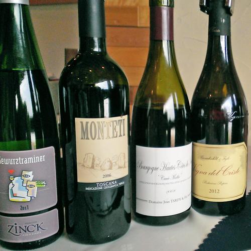 *お料理に合うワインの種類も豊富です♪
