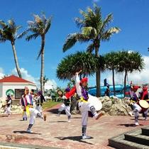 沖縄伝統芸能のひとつ「エイサー」(夏期イベント)