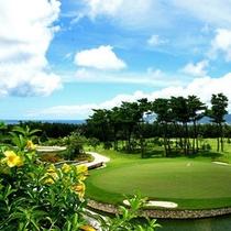 絶景を眺めながらゴルフを楽しむ♪
