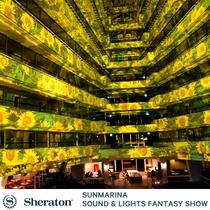 サンマリーナ音と光のファンタジー(毎晩開催)