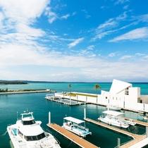 沖縄でも珍しい、ホテル敷地内に「プライベートマリーナ」を所有