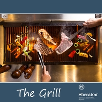 「The Grill」肉や魚介類を豪快に焼き上げる!