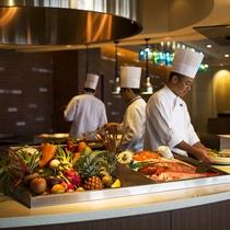 「The Grill」 新鮮な食材をお好みの調理法で、シェフが仕上げます。