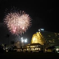 新年打ち上げ花火(年によっては開催しない場合もございます)