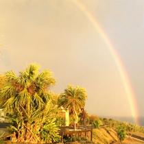 *[景色]雨がよく降りすぐにやむ種子島、虹がすぐ現れます。