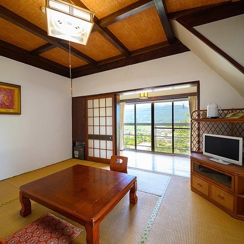 ・【由布】由布岳の見える和室8畳