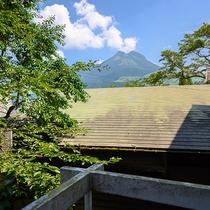・【こうげん】由布岳の見える洋室ダブル/眺め