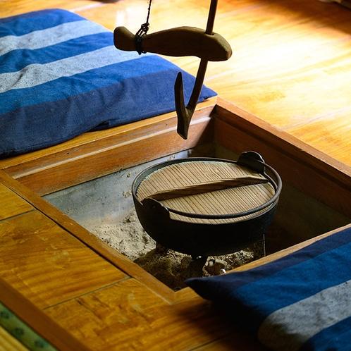 ・【やまびこ】囲炉裏のある和室/囲炉裏