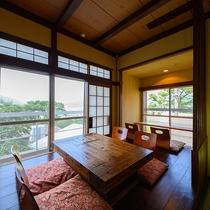 ・【紅葉】由布岳の見える和室2間
