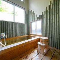 ・【こうげん】由布岳の見える洋室ダブル/ヒノキ内湯