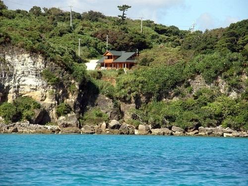 海側から見た魂喜村